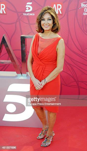 Ana Rosa Quintana attends El Programa de Ana Rosa's 10th anniversary party on June 26 2014 in Madrid Spain