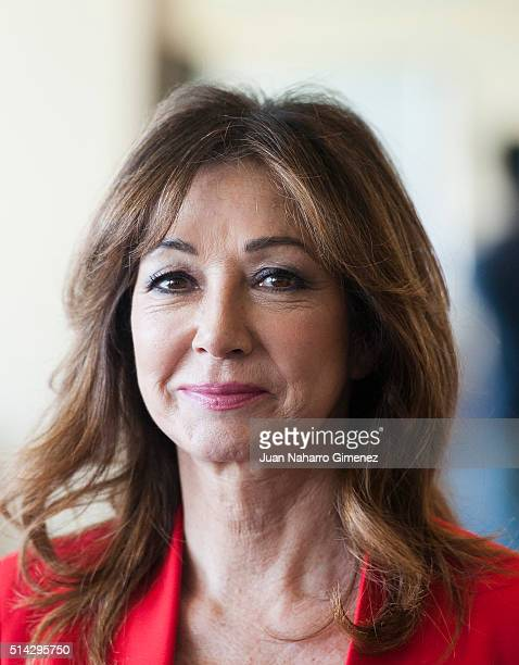 Ana Rosa Quintana attends 'International Women's Day' at Club Financiero Genova on March 8 2016 in Madrid Spain