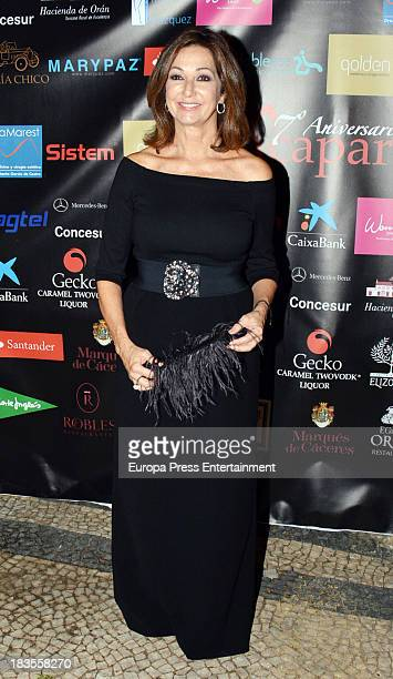Ana Rosa Quintana attends the 2013 Escaparate Awards at Portugal Consulte on October 4 2013 in Seville Spain