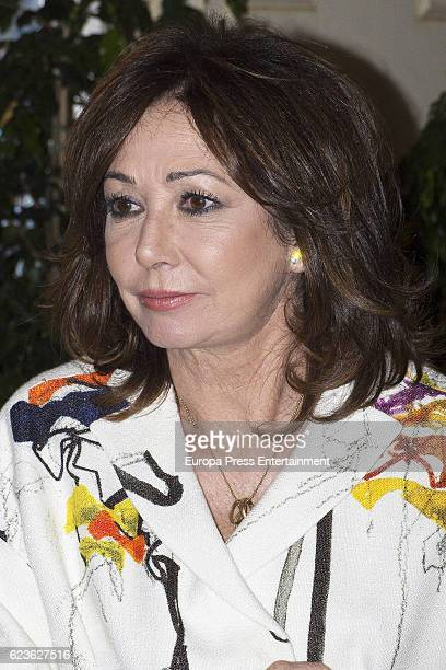 Ana Rosa Quintana attends the AR Magazine's 15th anniversary party on November 15 2016 in Madrid Spain