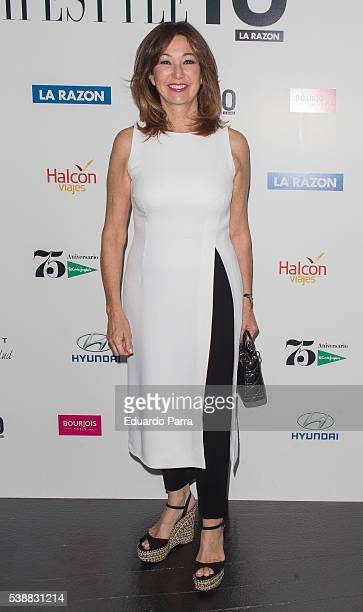 Ana Rosa Quintana attends the 'Lifestyle awards' photocall at Barcelo theatre on June 8 2016 in Madrid Spain