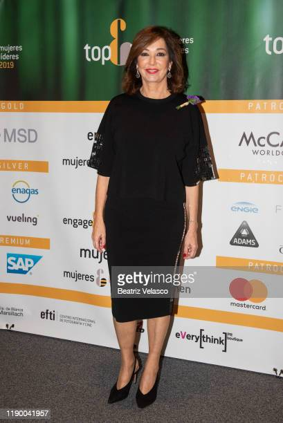Ana Rosa Quintana attends Top 100 Women 2019 on November 25 2019 in Madrid Spain