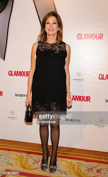Ana Rosa Quintana attends 'Top Glamour 2010' awards at The Ritz hotel on November 11 2010 in Madrid Spain