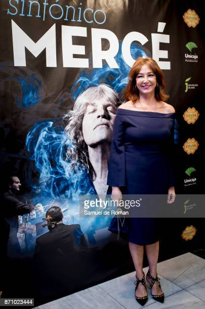 Ana Rosa Quintana during 'Jose Merce Sinfonico' Madrid Photocall on November 6 2017 in Madrid Spain