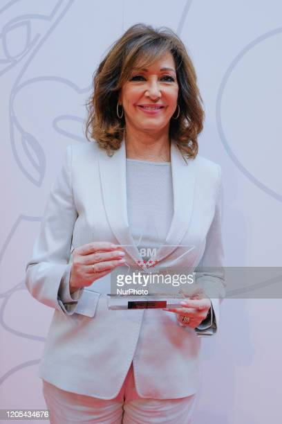 Ana Rosa Quintana during Women Day Awards ceremony of Comunidad of Madrid on Friday 06 March 2020 Spain