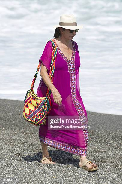 Ana Rosa Quintana is seen on August 25 2016 in Sotogrande Spain