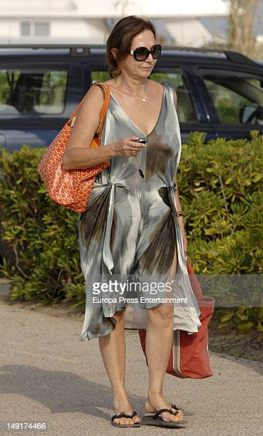 Ana Rosa Quintana is seen on July 23 2012 in Sotogrande Spain