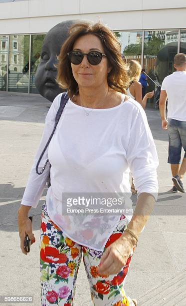 Ana Rosa Quintana is seen on September 1 2016 in Madrid Spain
