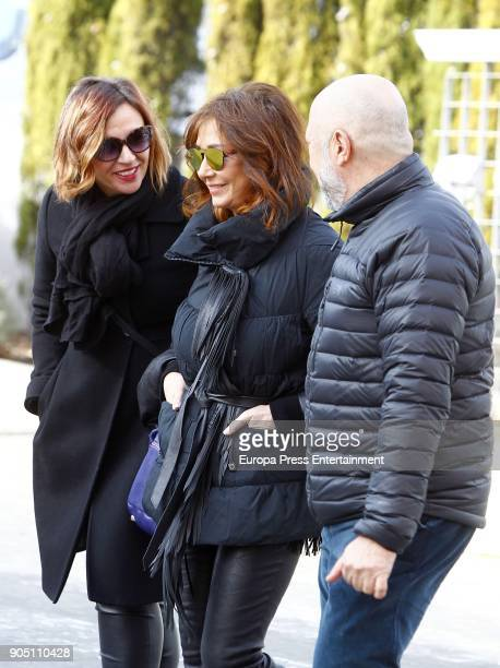Ana Rosa Quintana is seen the day of her 62th's birthday on January 12 2018 in Madrid Spain