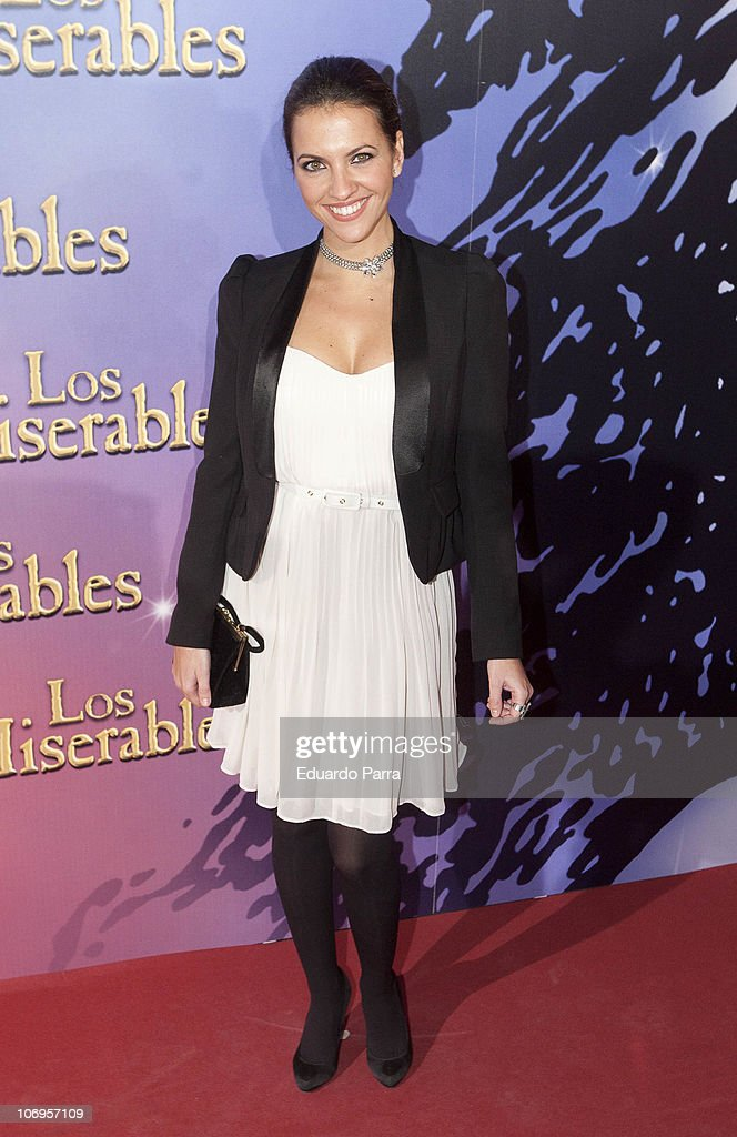 Ana Ruiz attends Los Miserables premiere photocall at Lope de Vega theatre on November 18, 2010 in Madrid, Spain.