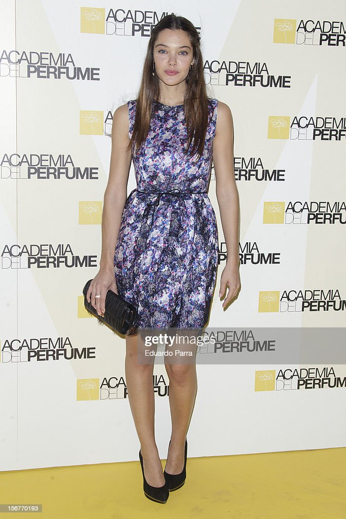 Ana Rujas attends Academia del perfume awards photocall at Casa de America on November 20, 2012 in Madrid, Spain.