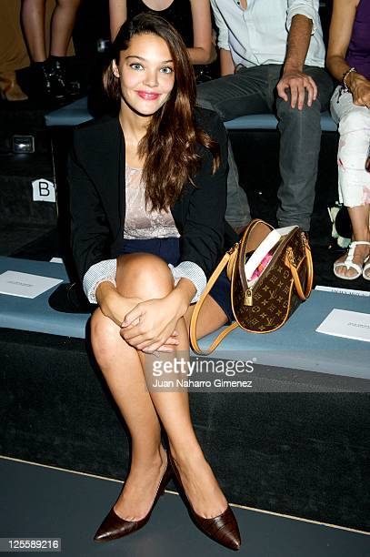 Ana Rujas attends Amaya Arzuaga show during Cibeles Fashion Week S/S 2012 at Ifema on September 18 2011 in Madrid Spain