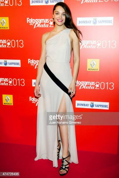 Ana Rujas attends 'Fotogramas Awards' 2013 at Teatro Joy Eslava on February 24 2014 in Madrid Spain