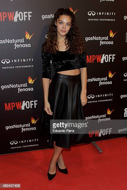 Ana Rujas attends Madrid Premiere Week party photocall at Callao cinema on November 18 2013 in Madrid Spain