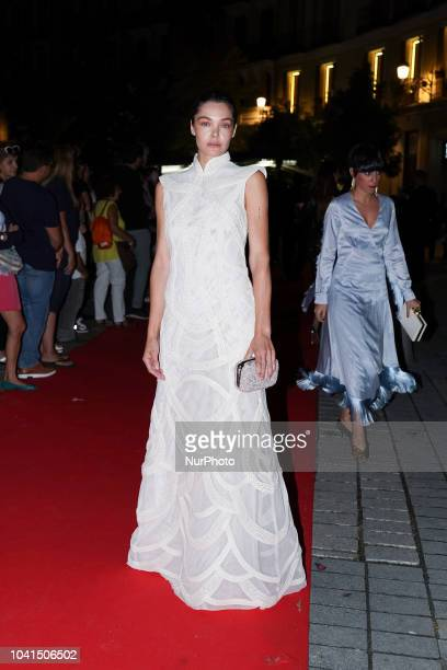 Ana Rujas attends 'Personality of the Year' Awards at Royal Theatre on September 26 2018 in Madrid Spain