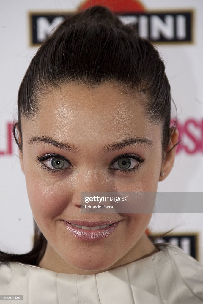 Ana Rujas attends the Cosmopolitan - Fragance of the Year photocall at Lara Theatre on May 17, 2010 in Madrid, Spain.