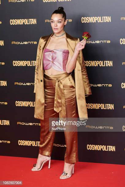 Ana Rujas attends the Cosmopolitan Magazine Awards 2018 Photocall at 'Florida Retiro' in Madrid on October 18 2018