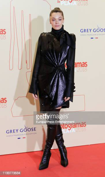 Ana Rujas attends the Fotogramas Awards 2019 at Florida Park Club on March 04 2019 in Madrid Spain