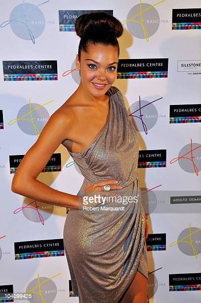 Ana Rujas attends the 'New Generation by Francina' fashion show and party at the Pedrales Center on September 14 2010 in Barcelona Spain