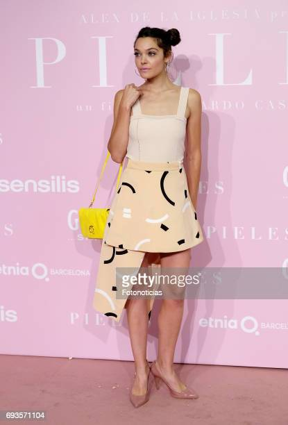 Ana Rujas attends the 'Pieles' premiere pink carpet at Capitol cinema on June 7 2017 in Madrid Spain