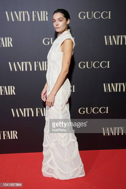 Ana Rujas attends the Vanity Fair 'Person of the year 2018quot award Photocall at Royal Theatre in Madrid on Sep 26 2018