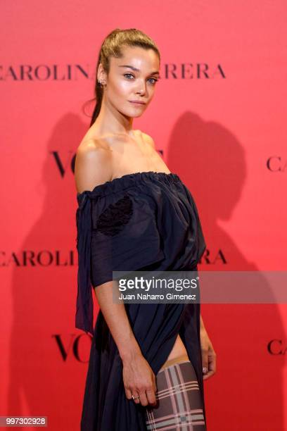 Ana Rujas attends Vogue 30th Anniversary Party at Casa Velazquez on July 12 2018 in Madrid Spain