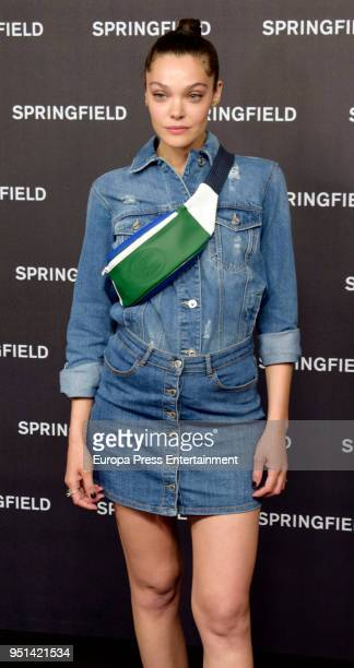 Ana Rujas presents the new Springfield campaign on April 25 2018 in Madrid Spain