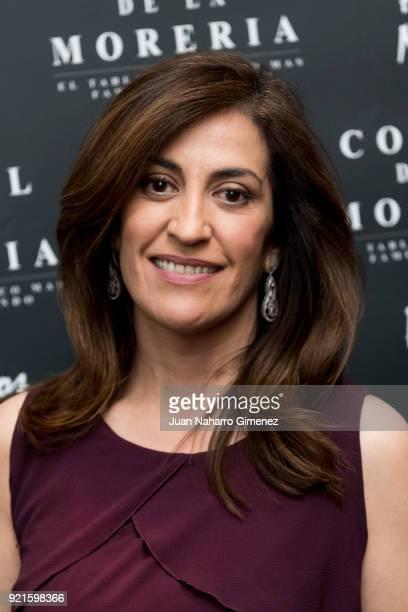 Ana Samboal attends 'Pata Negra' awards 2018 at Corral de la Moreria restaurant on February 20 2018 in Madrid Spain
