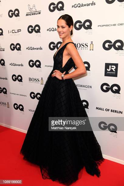 Ana Schweinsteiger arrives for the 20th GQ Men of the Year Award at Komische Oper on November 8 2018 in Berlin Germany