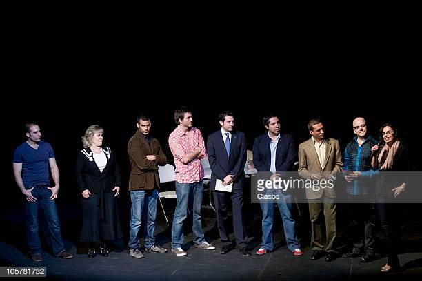 Ana Serradilla and cast during the presentation of Cosa de Ninos spectacle at Julio Pietro Theater on October 19 2010 in Mexico City mexico