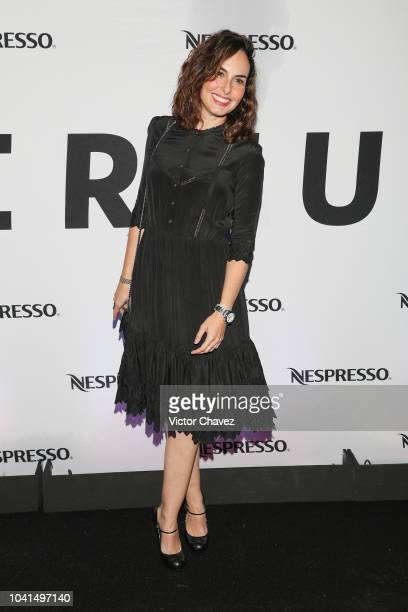 Ana Serradilla attends the Nespresso Vertuo launch on September 26 2018 at Piacere in Mexico City Mexico