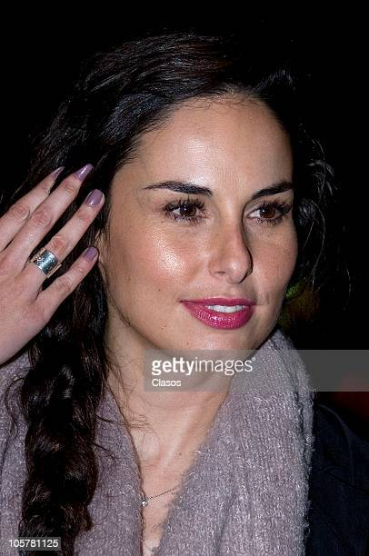Ana Serradilla attends to the presentation of Cosa de Ninos spectacle at Julio Pietro Theater on October 19 2010 in Mexico City mexico