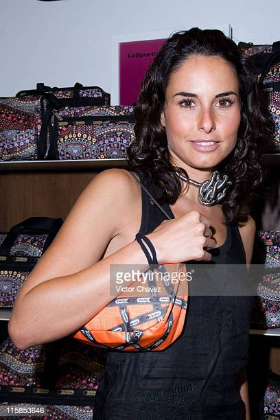 Ana Serradilla during LeSportsac Opening Store in Mexico City December 14 2006 at Plaza Duraznos in Mexico Mexico City Mexico