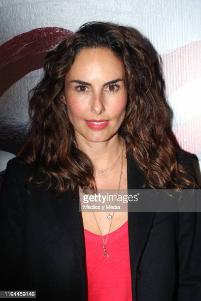 Ana Serradilla poses at the premiere of '1984' on July 26 2019 in Mexico City Mexico