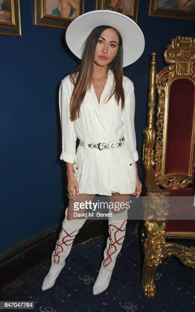 Ana Tanaka attends the iD x Jeremy Scott party presented by UGG at Cafe de Paris on September 14 2017 in London England