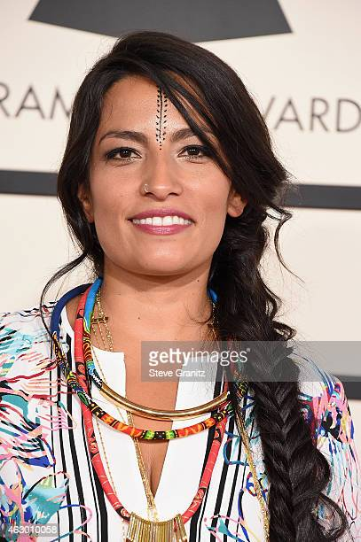 Ana Tijoux attends The 57th Annual GRAMMY Awards at the STAPLES Center on February 8 2015 in Los Angeles California