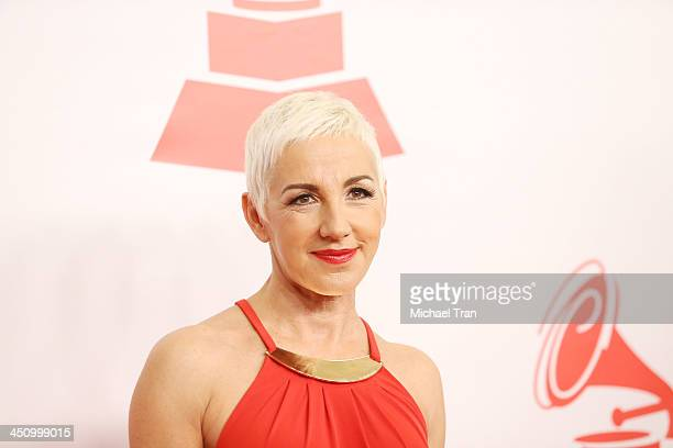 Ana Torroja arrives at the 2013 Latin Recording Academy Person of the Year honoring Miguel Bose held at Mandalay Bay Resort and Casino on November 20...