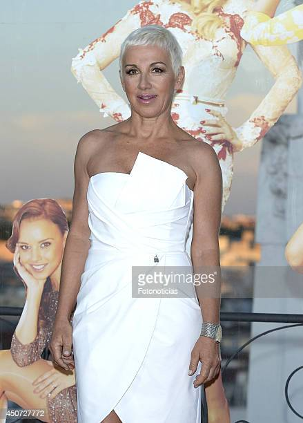 Ana Torroja attends Shangay Pride presentation party at ME Hotel on June 16 2014 in Madrid Spain