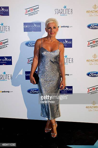 Ana Torroja attends the 5th annual Starlite Charity Gala on August 09 2014 in Marbella Spain