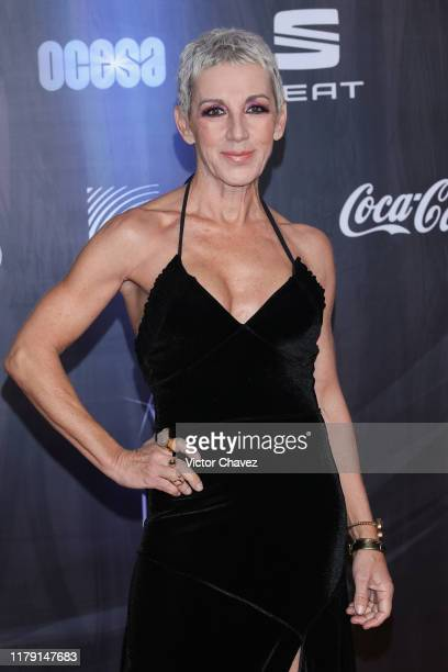 """Ana Torroja attends the """"Lunas del Auditorio 2019"""" at Auditorio Nacional on October 30, 2019 in Mexico City, Mexico."""