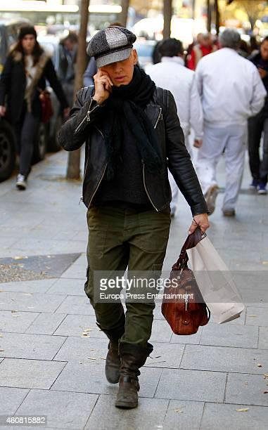 Ana Torroja is seen on December 23 2014 in Madrid Spain