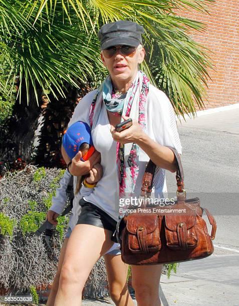 Ana Torroja is seen on July 22, 2016 in Madrid, Spain.