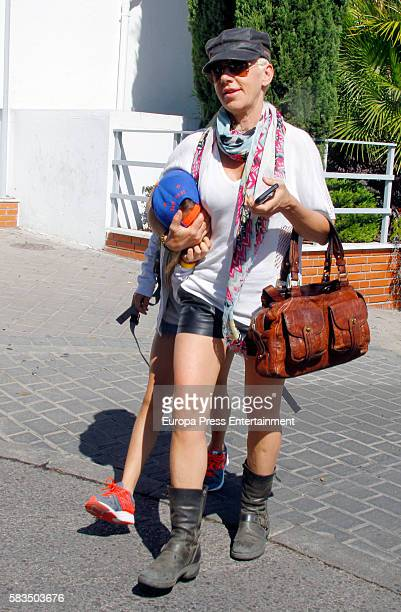 Ana Torroja is seen on July 22 2016 in Madrid Spain