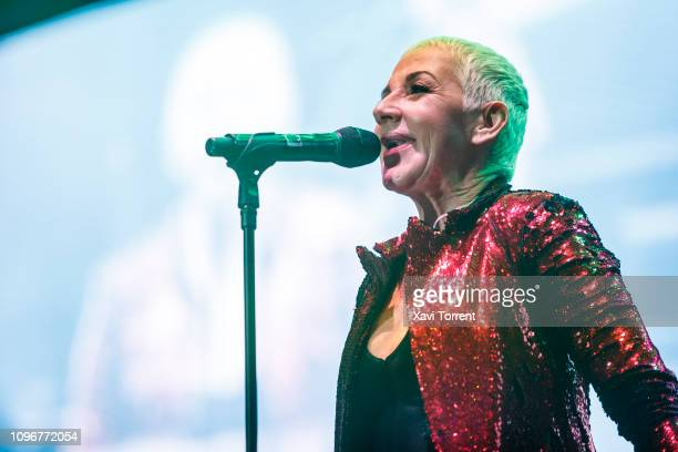 Ana Torroja performs in concert during Yo Fui a EGB party at Palau Sant Jordi on February 9 2019 in Barcelona Spain