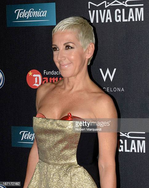 Ana Torroja poses during a photocall for the 'Gala against HIV 2012' at the Hotel W on November 29 2012 in Barcelona Spain