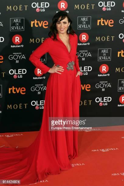 Ana Turpin attends Goya Cinema Awards 2018 at Madrid Marriott Auditorium on February 3 2018 in Madrid Spain