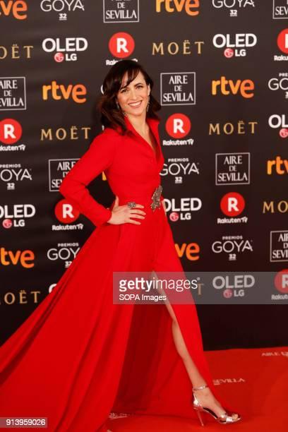 Ana Turpin attends Goya Cinema Awards 2018 at Madrid Marriott Auditorium