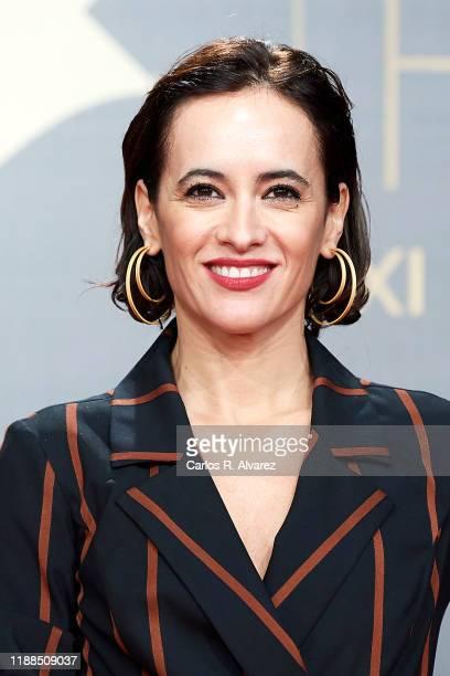 Ana Turpin attends 'Iris Academia de Television' awards at Nuevo Teatro Alcala on November 18 2019 in Madrid Spain