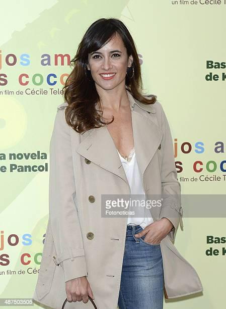 Ana Turpin attends the 'Los Ojos Amarillos de los Cocodrilos' premiere the Academia del Cine on April 30 2014 in Madrid Spain