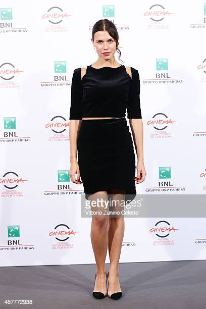 Ana Ularu attends the 'Index Zero' Photocall during the 9th Rome Film Festival on October 24 2014 in Rome Italy